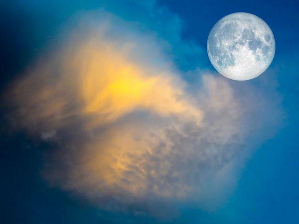 視覺奇觀:NASA拍下的超級牛奶月亮