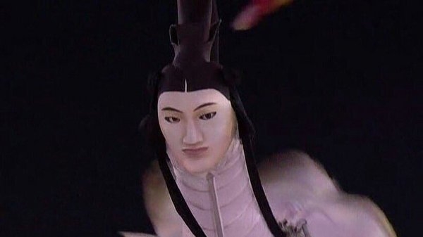 平昌冬奧會開幕式上的人面鳥火了
