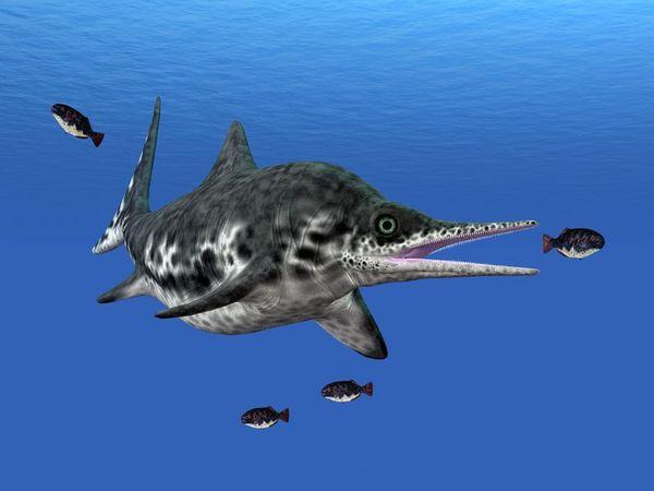 魚龍可能是迄今體型最大的動物