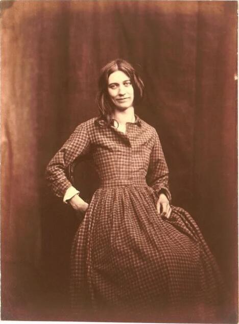 十九世纪女精神病系列肖像照
