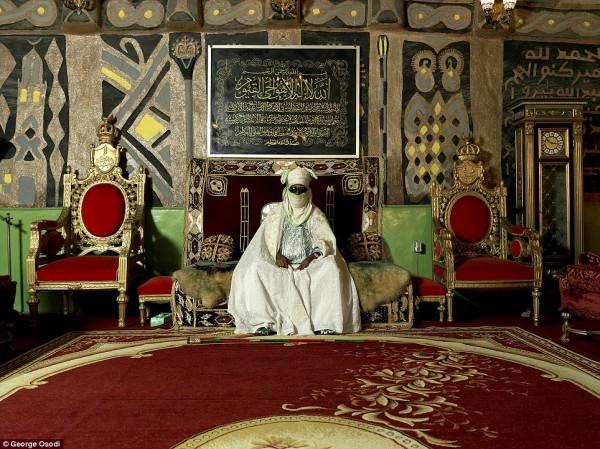 非洲最后的君主:尼日利亚王室写真
