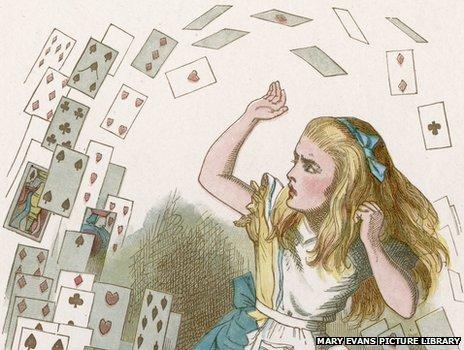 《爱丽丝梦游仙境》可能是描述□□幻觉的书籍?作者还可能是□□癖?