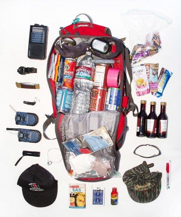 灾难预防狂人的三日逃生包里有什么