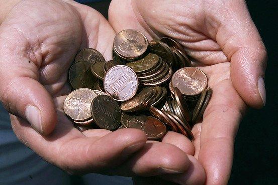 1美分硬币,制造成本竟然是1.7美分