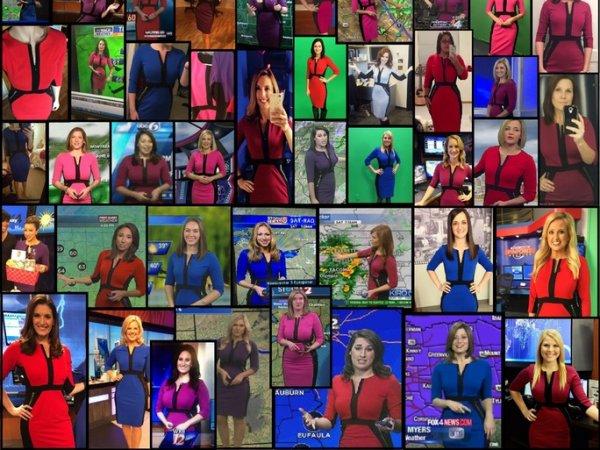 一条全美国气象播报员都在穿的连衣裙